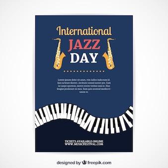 International jazz day nice poster