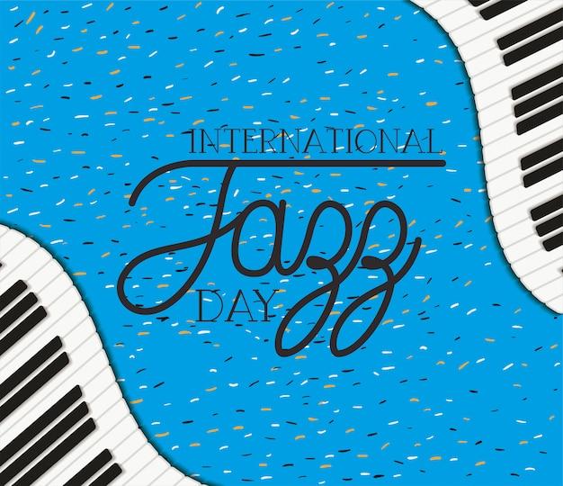 Международный день джаза с фортепианной клавиатурой
