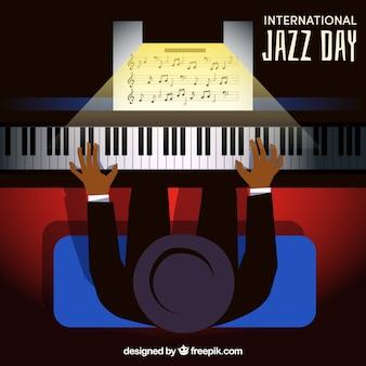 International jazz day template