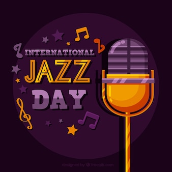 International jazz day template