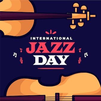 International jazz day with bass