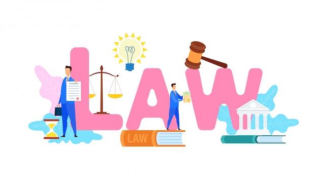International law lettering