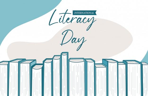 International literacy day background