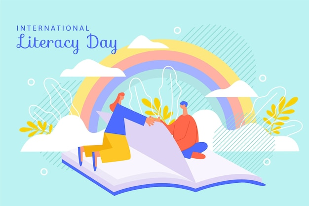 International literacy day concept