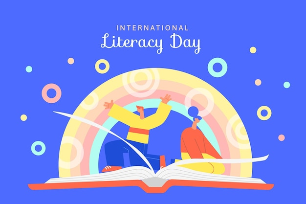 International literacy day design