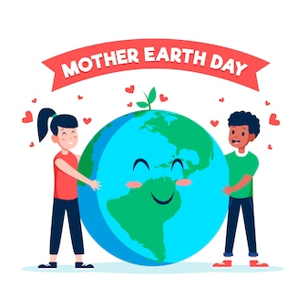 International mother earth day event concept