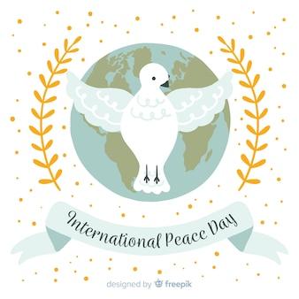 Международный день мира с голубями