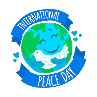 International peace day banner