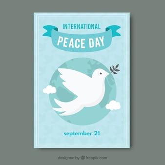 국제 평화의 날 전단지