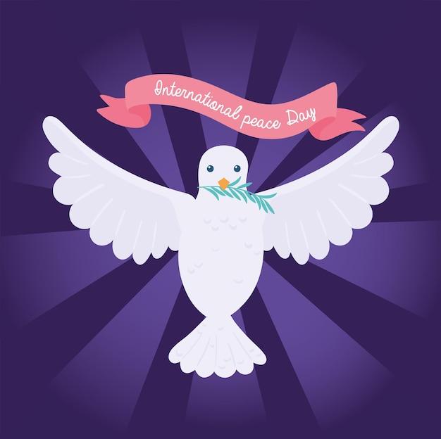 국제 평화의 날 비둘기