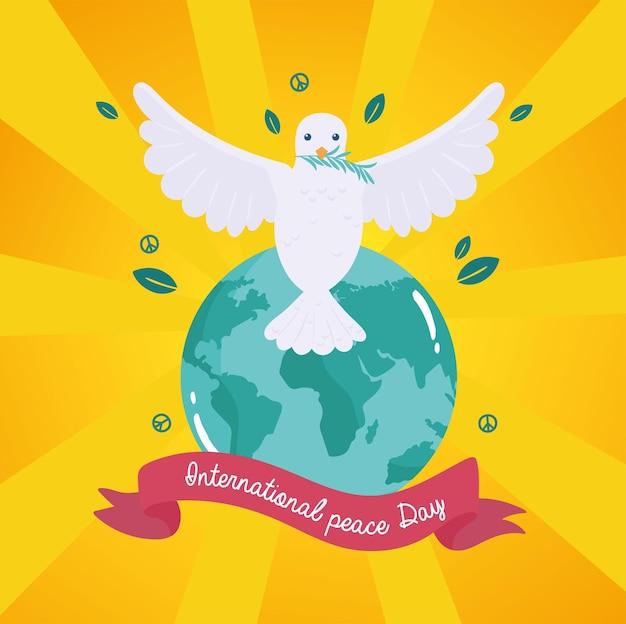 International peace dove