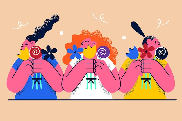 국제 여성의 날 꽃