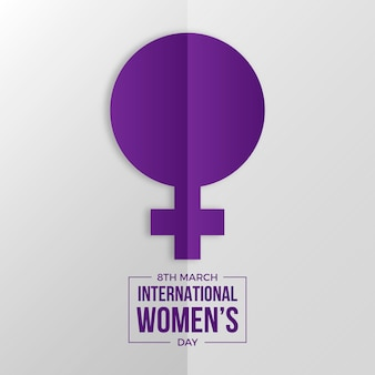 International women day background