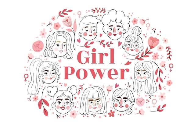 Международный женский день фон