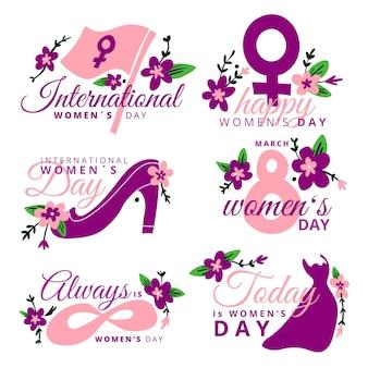 Значки международного женского дня