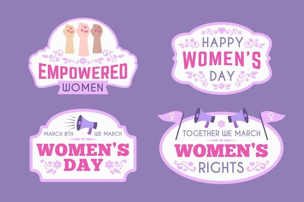 국제 여성의 날 배지