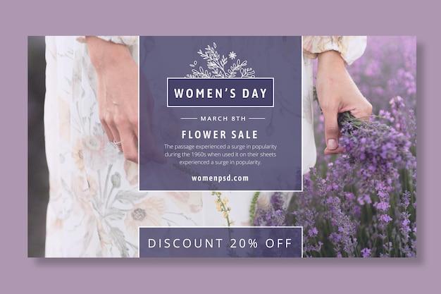 International women day banner