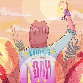 국제 여성의 날 이벤트 디자인