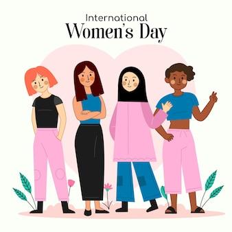 International women day illustration