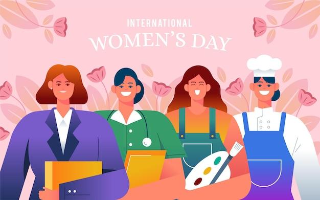 国際女性デーのイラスト