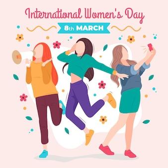 국제 여성의 날 그림