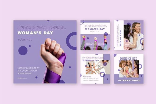International women day insatgram post