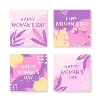 Международный женский день instagram посты