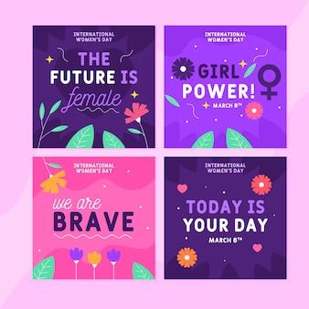 국제 여성의 날 instagram posts
