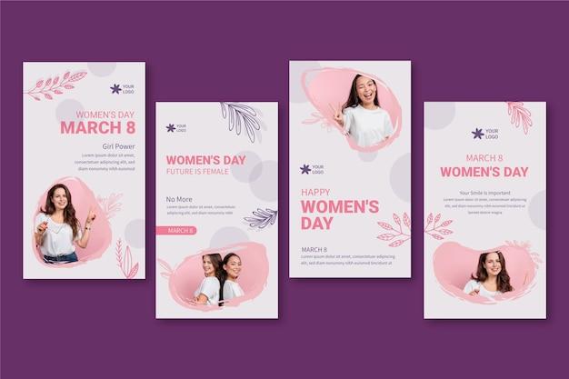 Storie di instagram per la giornata internazionale delle donne