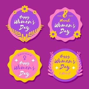 국제 여성의 날 레이블
