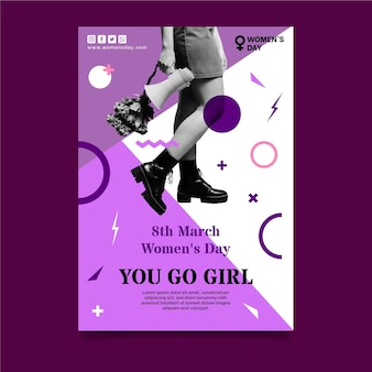 International women day poster