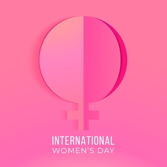 Giorno internazionale delle donne Vettore gratuito