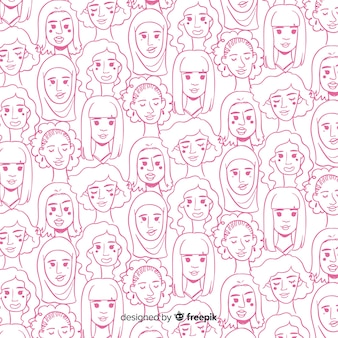 International women pattern