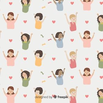 International women pattern