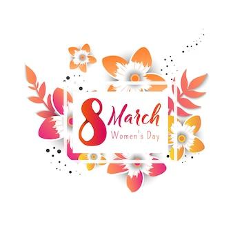 International women's advertising banner