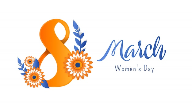 International women's advertising banner