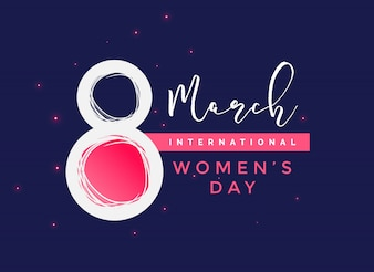 International women's day  background