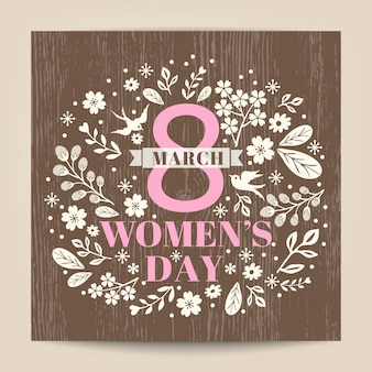 International women's day card