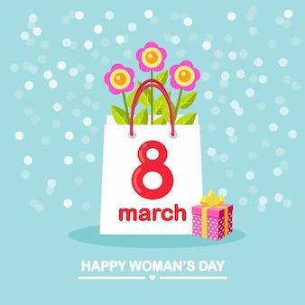 국제 여성의 날 개념