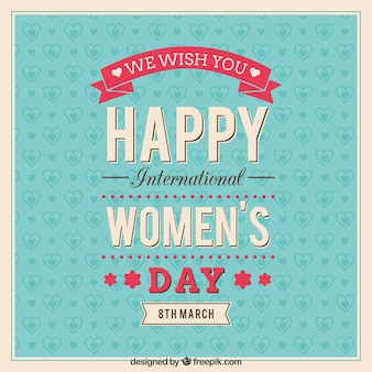 국제 여성의 날 인사말 카드