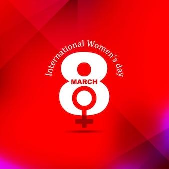 국제 여성의 날 축하 배경