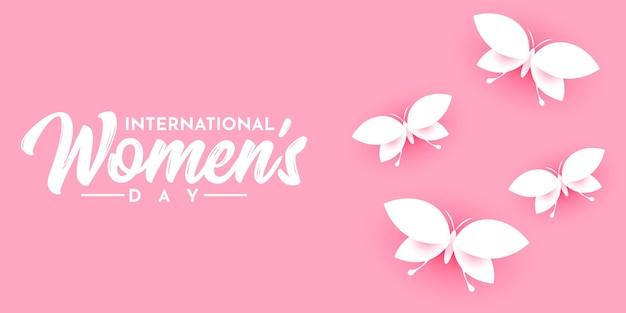 International womens day illustration template