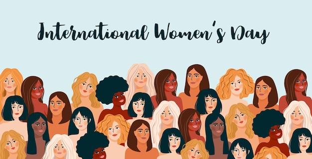 International womens day.