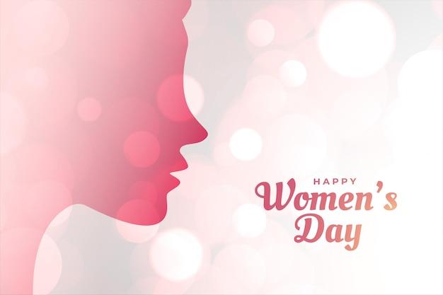Fondo di concetto di giorno della donna internazionale