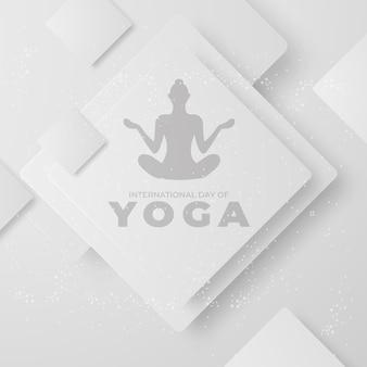 Международный день йоги дизайн человеческая медитация