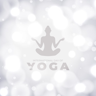 国際ヨガの日デザイン人間の瞑想
