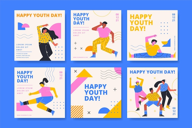 International youth day post collection