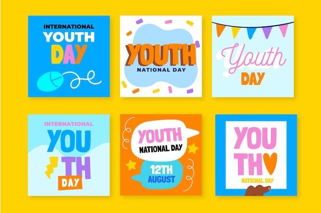 Raccolta di post per la giornata internazionale della gioventù