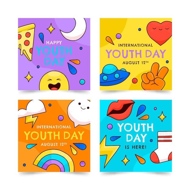 International youth day posts collection