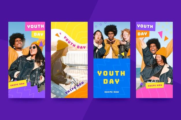 Сборник рассказов о международном дне молодежи с фото